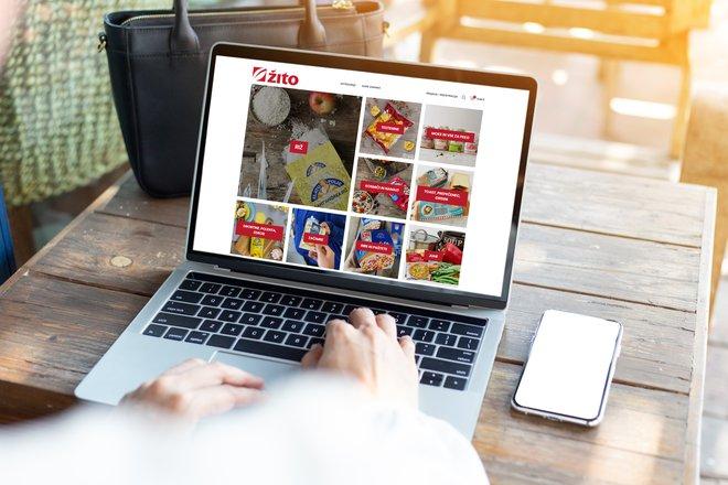 Številni ponudniki vsakdanjih izdelkov že ustvarjajo spletne trgovine, ki gredo mimo fizičnih trgovin.FOTO: Arhiv Žita