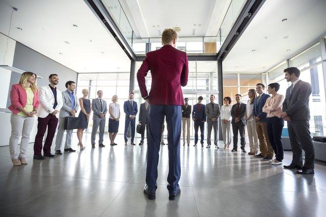 Business leader. FOTO: Lucky Business / Shutterstock